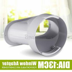 13cm/5'' Window Adaptor PVC White For Portable Air Condition