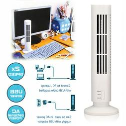 2 Speed Portable Mini USB Tower Cooling Fan Bladeless Air Co