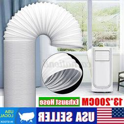 """2M Exhaust Hose Duct For Portable Air Conditioner 13cm/5"""" Di"""