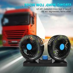 Dual Head Portable Air Conditioner For Car 12V DC Plug In Ve