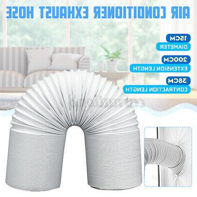 2m 15cm exhaust hose tube steel wire