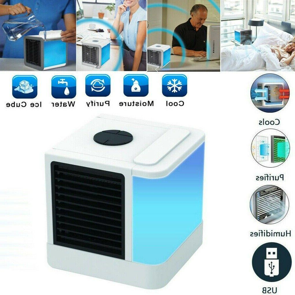 Portable Fan Humidifier Cooling Home Office