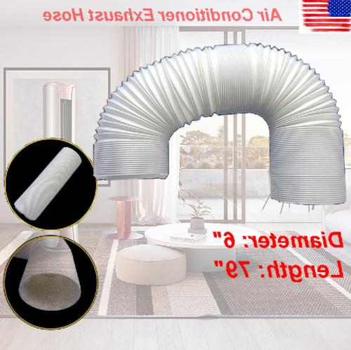 universal portable air conditioner exhaust hose tube