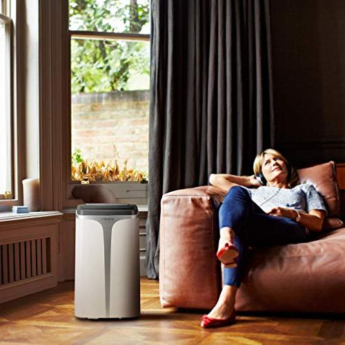 Rosewill 12000 BTU & Dehumidifier, 3-in-1 w/Remote Quiet Efficient Unit for Use,