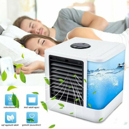 Personal Portable Cooler AC Air Conditioner Air Fan Humidifi