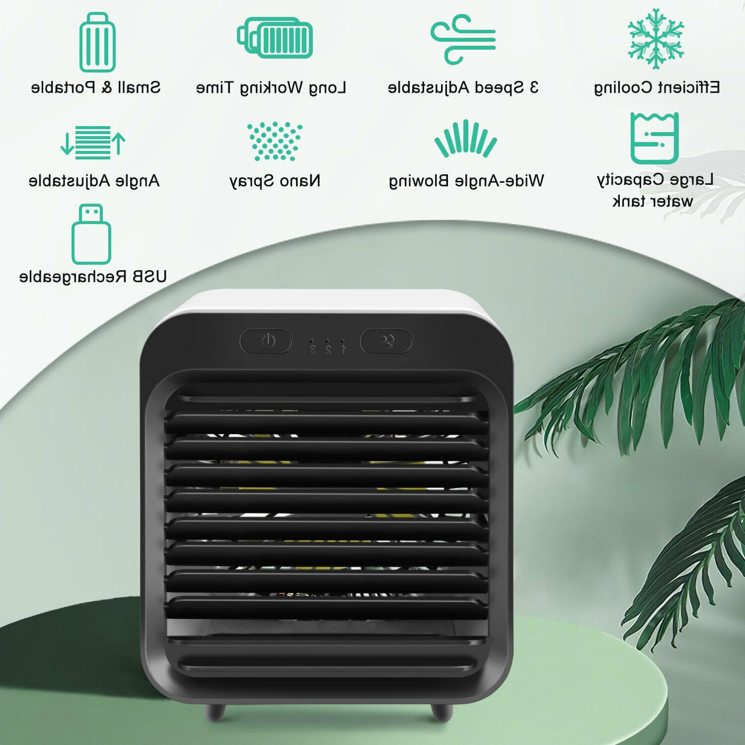 Cooler Humidifier Rechargeable US