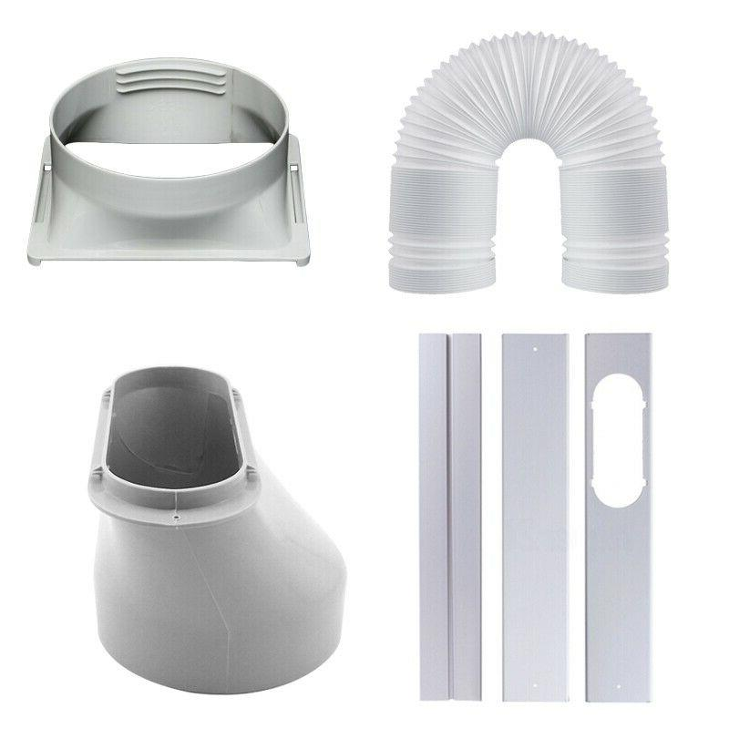 For Portable Air Conditioner Window Adaptor/3PCS Kit Plate/E