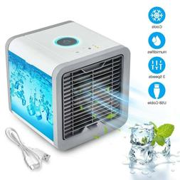 Personal Space Portable Mini Air Conditioner Cooling Fan USB