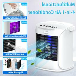 portable air conditioner cooler fan humidifier evaporative