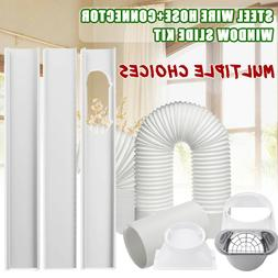 Portable Air Conditioner Window Pipe Interface Exhaust Hose/