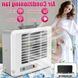 Portable Mini AC Air Conditioner Personal Water Cooling Fans