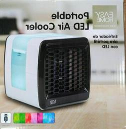 Easy Home Portable Mini Air Conditioner 7 LED Color Changing