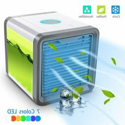 Portable Mini Air Conditioner Cool Cooling Bedroom Personal