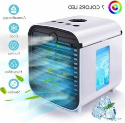 Portable Mini Air Conditioner Cooler Fan Air Cooling Cool Ev