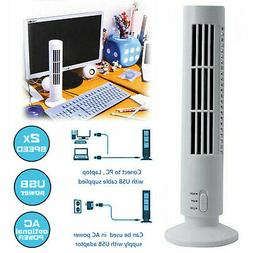 Portable Mini USB Tower Fan Cooling Bladeless Air Conditione