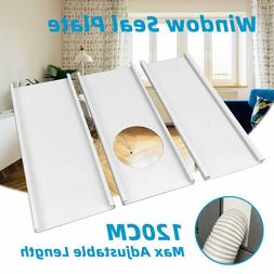 Wind Shield for Portable Air Conditioner Exhaust Hose Window